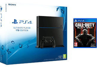 SONY PlayStation 4 (inkl Call of Duty: Black Ops 3) - 1 TB