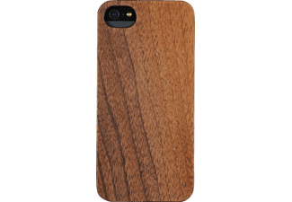 WOODCESSORIES Echtholz Classic, Apple, Backcover, iPhone 5, iPhone 5s, iPhone SE, Echtholz/Polycarbonat, Walnuss