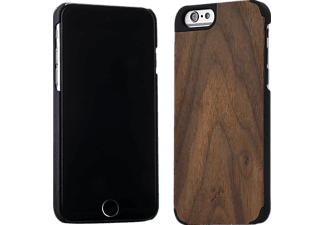 WOODCESSORIES EcoCase Van Damme, Apple, Backcover, iPhone 6/6s, Echtholz und Polycarbonat, Walnuss