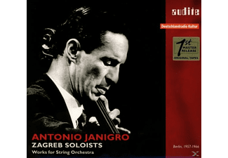 Antonio Janigro, Zagreb Soloists - The Rias Recordings-Berlin 1957-1966 [CD]