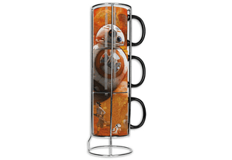 Star Wars Episode 7 Tassen 3er Set BB-8 Collage