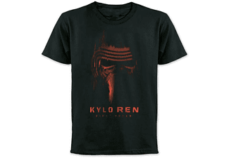Star Wars Episode 7 T-Shirt Kylo Ren Red Mask Schwarz, S