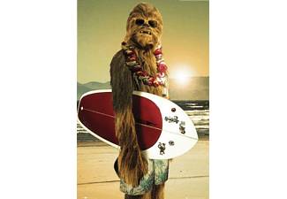 Star Wars Poster Chewbacca Surfin'