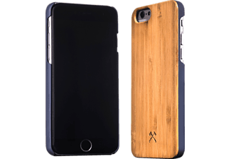 WOODCESSORIES EcoCase Conan, Apple, Backcover, iPhone 6, iPhone 6s, Bambus/Echtholz, Braun/Blau