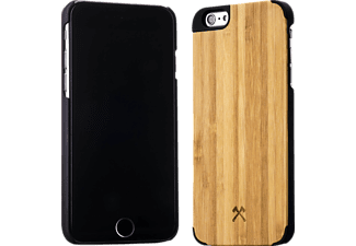 WOODCESSORIES EcoCase Norris, Apple, Backcover, iPhone 6 Plus, iPhone 6s Plus, Bambus/Echtholz, Braun/Schwarz