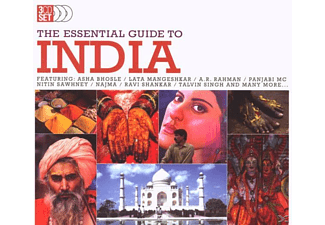 VARIOUS - The Essential Guide To India - (CD)