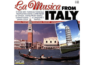 VARIOUS - La Musica From Italy [CD]
