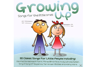 VARIOUS - Growing Up - (CD)
