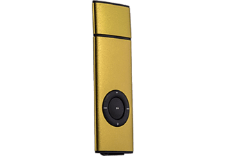 GOLDMASTER Slim8 8 GB MP3 Player Altın