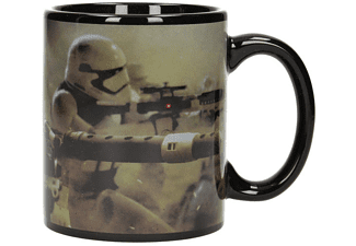 Star Wars Episode 7 Tasse Stormtroopers Battle Schwarz