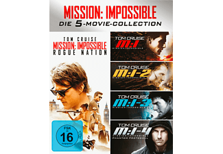 Mission Impossible 1-5 Box [Blu-ray]