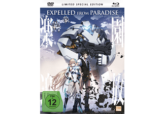 Expelled From Paradise - (Blu-ray + DVD)