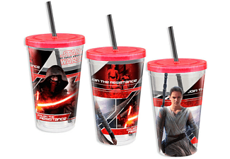 Star Wars Trinkbecher Kylo Ren und Rey Episode 7