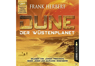 Dune: Der Wüstenplanet - 4 MP3-CD - Science Fiction/Fantasy