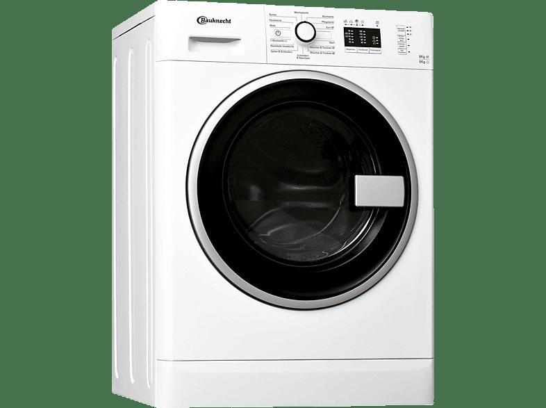 Exceptional BAUKNECHT WATK Prime 8612 Waschtrockner (8 Kg, 1200 U/Min, A) Amazing Design