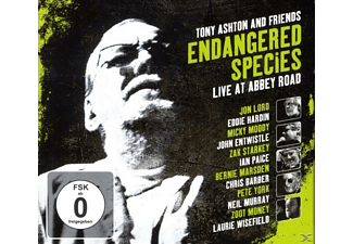 Tony Ashton, VARIOUS - Endangered Species - (CD + DVD Video)