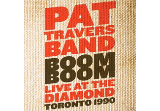 Pat Travers - Boom Boom - (CD)