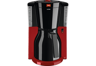 MELITTA 1011-18 Look IV Therm Basis Kaffeemaschine Schwarz/Rot
