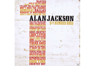 Alan Jackson - 34 Number Ones - (CD)