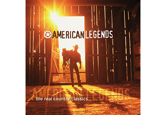 VARIOUS - American Legends-The Real Country Classics [CD]