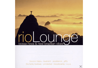 VARIOUS - Rio Lounge-Bossa Nova & New Brazilian Vibes [CD]