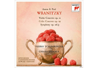 Howard Griffiths, Veriko Tchumburidze, Chiara Ende - Violin Concerto/Cello Concerto & Symphony In D - (CD)