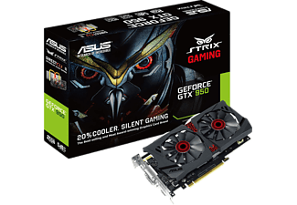 ASUS Nvidia GeForce GTX 950 STRIX Gaming 2 GB 128 Bit GDDR5 (DX12) Ekran Kartı (STRIX-GTX950-DC2OC-2GD5)