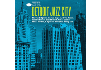 Detroit Jazz City CD