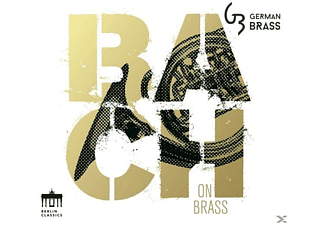German Brass - Bach On Brass - (CD)