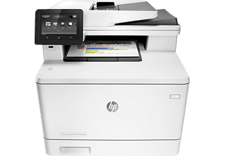 HP Color LaserJet Pro MFP M477fdw, 4-in-1 Laser-Multifunktionsdrucker (Farbe), Grau