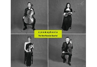 The New Russian Quartet, Various - Cinemaphonia - (CD)