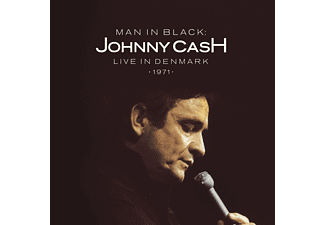 Johnny Cash Man in Black: Live in Denmark 1971 Βινύλιο