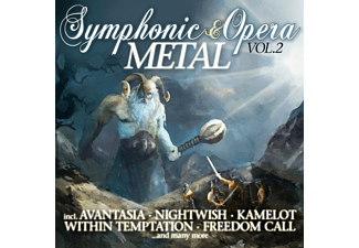 VARIOUS - Symphonic & Opera Metal Vol.2 - (CD)