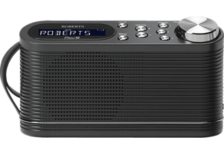 ROBERTS Play 10, Digitalradio, UKW, DAB+, Schwarz