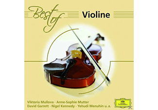 VARIOUS, Garrett/Menuhin/Mutter/Abbado/Karajan/BP/+ - Best Of Violine [CD]