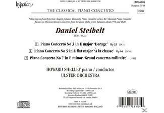 Howard Shelley, Ulster Orchestra - The Classical Piano Concerto Vol.2 - (CD)
