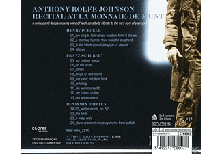 Anthony Rolfe-Johnson - Anthony Rolfe Recital At La Monnaie - (CD)