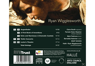 Booth/Padmore/Stephen/Wigglesworth/Rsvp Voices/+ - Echo And Narcissus-Lieder - (CD)