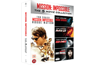Mission Impossible 1-5 Action Blu-ray