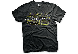 "Star Wars Logo 1 T-Shirt ""the Force Awakens"" Episode 7 Schwarz M"