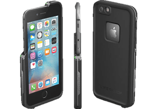 LIFEPROOF Fré, Full Cover, Apple, iPhone 6, iPhone 6s, Polycarbonat/Polypropylen/Synthesekautschuk/Silikonschicht, Schwarz