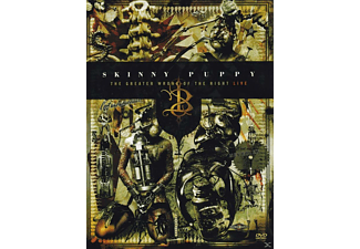 Skinny Puppy - Skinny Puppy - The Greater Wrong of Right - Live (2 DVDs) - (DVD)
