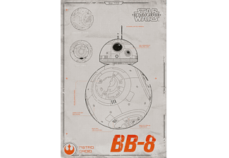 Star Wars: Episode 7 Poster Bb-8 Blueprint