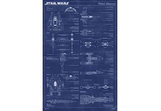 Star Wars Poster Rebel Alliance Blaupause