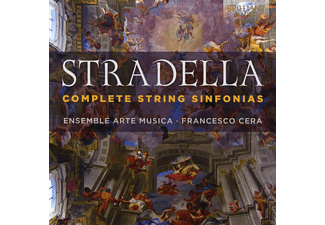 Francesco Cera, Ensemble Arte Musica - Complete String Sinfonias [CD]