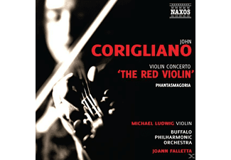 Joann Falletta, Buffalo Po, Michael Ludwig, Falletta/Ludwig/Buffalo PO - Violinkonzert 'The Red Violin' - (CD)