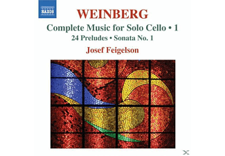 Josef Feigelson - Werke Für Solo Cello Vol.1 - (CD)