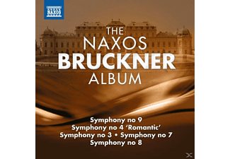 VARIOUS - The Naxos Bruckner Album - (CD)
