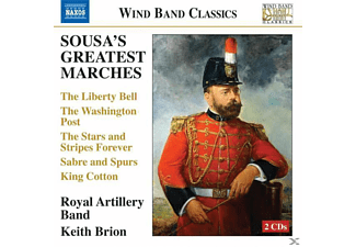 Royal Artillery Band, Brion/Royal Artillery Band - Sousa's Greatest Marches - (CD)