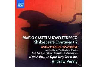 Andrew & West Australian Penny, ANDREW & WEST-AUSTRALIAN SO. Penny - Shakespeare Overtures Vol.2 - (CD)